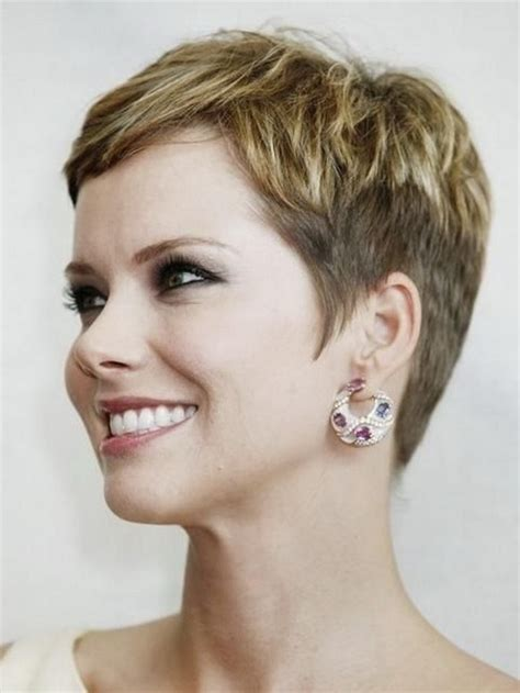 short haircuts for women over 50 side view short pixie hairstyles for women over 50