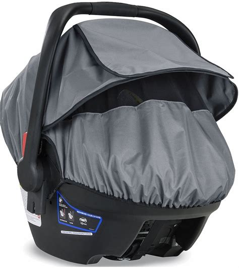 britax infant car seat sun and bug cover installation britax b covered all weather car seat cover
