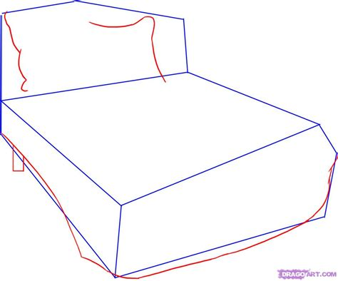 how to draw a bedroom step by step how to draw a bed step by step stuff pop culture free
