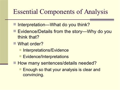 How To Write Literary Analysis Essay by Writing A Literary Analysis Essay Process Questions