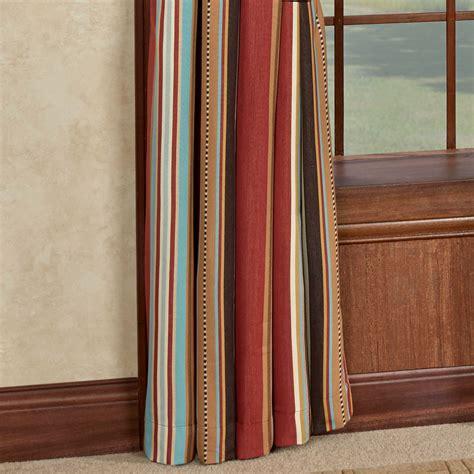 Striped Window Curtains Calhoun Striped Southwest Window Treatment