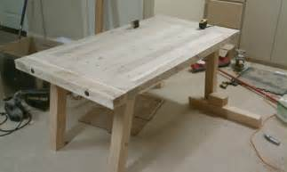 Dining Room Table Ideas Diy Unfinished Diy Pine Farmhouse Dining Table For Small
