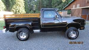Dodge Warlock 4x4 For Sale Buy Used 1979 Dodge Warlock Power Wagon 4x4 In Vancouver