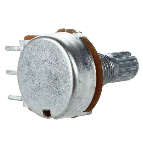 variable resistor b5k b5k guitar linear taper potentiometer pot humbucker variable resistor stereo sy ebay