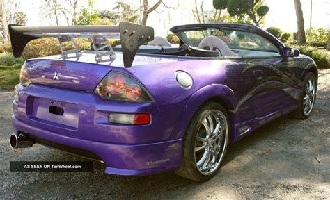 purple mitsubishi eclipse spyder fast furious 2003 mitsubishi eclipse spyder gts