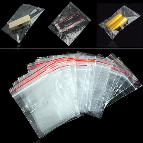 Polybag Plastik Size 30 X 30 Cm 100pcs plastic bags jewelry ziplock zip zipped lock reclosable poly clear packaging bags