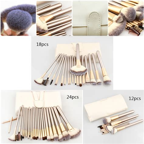 Kuas Make Up Chagne Gold 12 Pcs kuas make up 12 pcs chagne gold