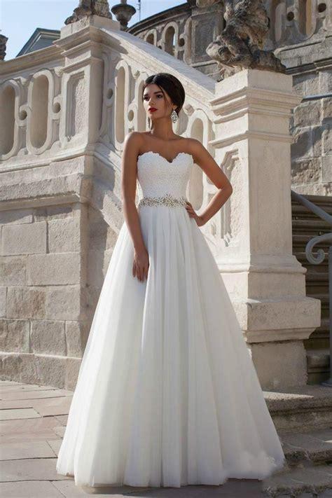 custom wedding dress 2015 new arrival white princess a line vintage wedding