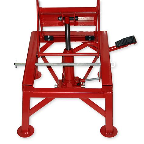 motorcycle lift bench 300lb 135kg hydraulic motorcycle workbench lift bike atv