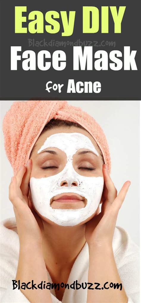 Masker Acnes diy wash for acne scars diy craft