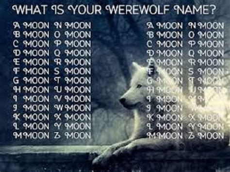 wolf names name generator of an otaku mlp forums