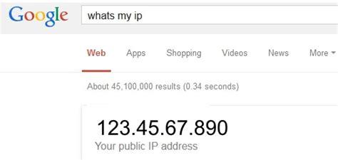 my ip address determining your ip address