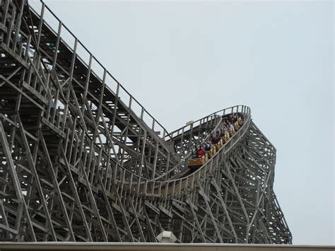 Wooden Coaster wooden roller coaster