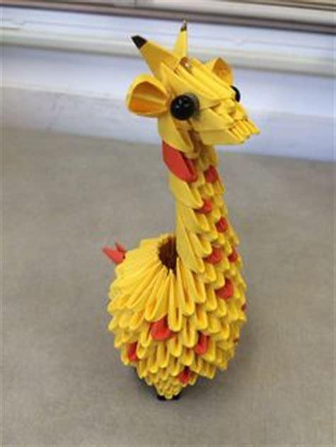 3d origami giraffe 1000 images about модульное оригами on 3d
