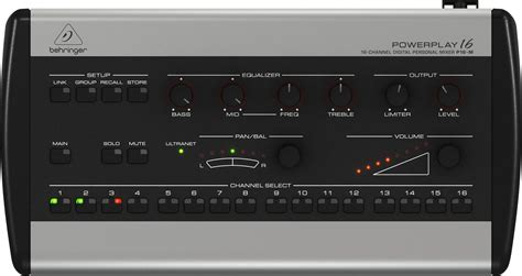 Harga Ear Monitor Drum behringer powerplay 16 channel digital personal mixer