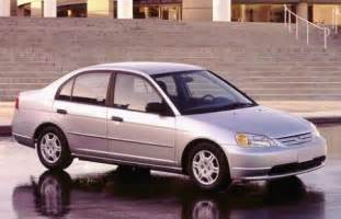2001 honda civic accord nhtsa airbag recall