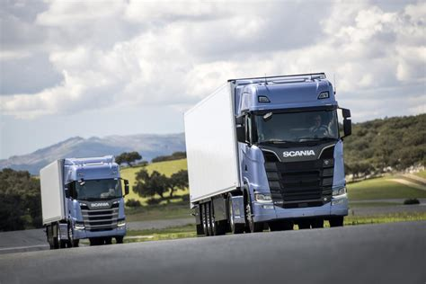 new scania s and r trucks launched commercial motor