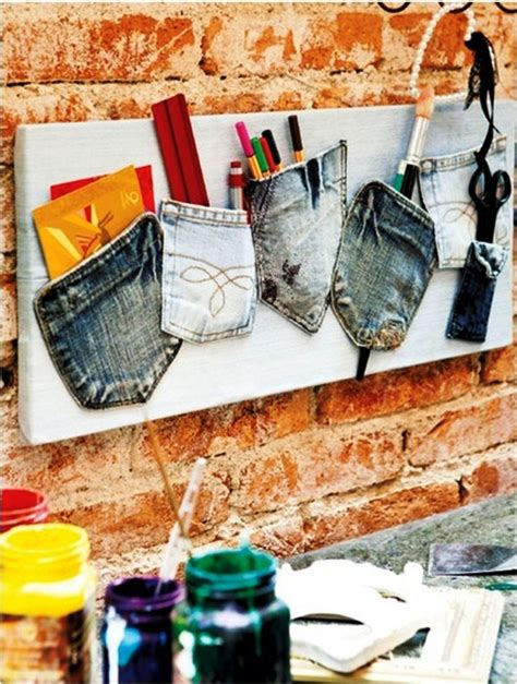recycled bedroom ideas what to do with old jeans 4 diy ideas for recycling