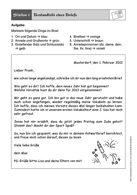 Musterbrief Schreiben Bildergebnis F 252 R Brief Schreiben 3 Klasse 3 Klasse Klasse Schreiben Und