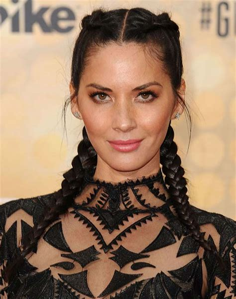 chrissy lkin 2 french braids styles top 21 olivia munn latest hairstyles haircuts