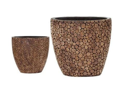 Organic Planters organic planters set of 2 accessories better living through design