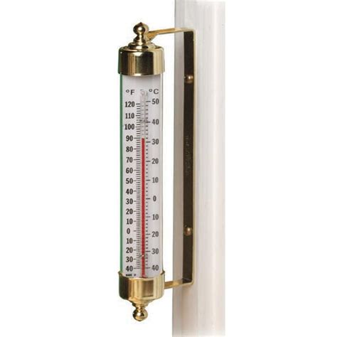 Termometer Outdoor sale vermont outdoor thermometer by conant custom brass