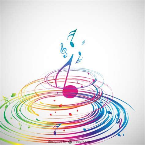 imagenes notas musicales gratis dise 241 o de m 250 sica en espiral descargar vectores gratis