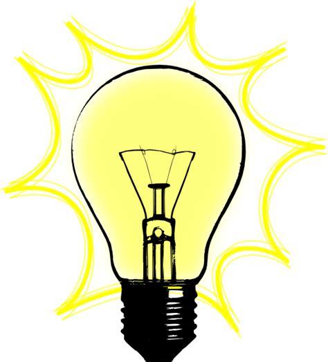 Bulb L Clip Art At Clker Com Vector Clip Art Online Animated Lights Clipart
