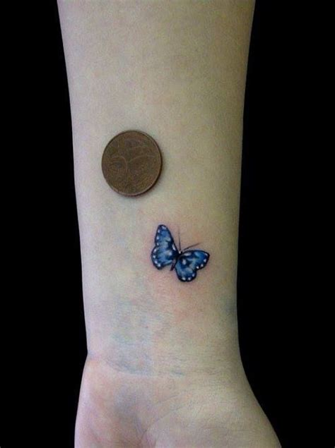 25 best ideas about butterfly wrist tattoo on pinterest
