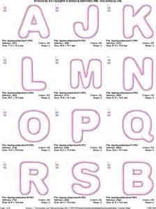 applique embroidery designs applique alphabet bunnycup