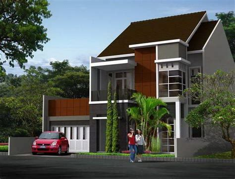 desain atap rumah lantai 2 130 best images about rumah minimalis on pinterest