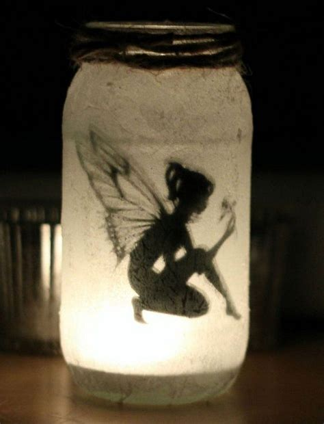 Home Made Halloween Decor How To Make Mason Jar Fairy Lanterns Craft Projects For