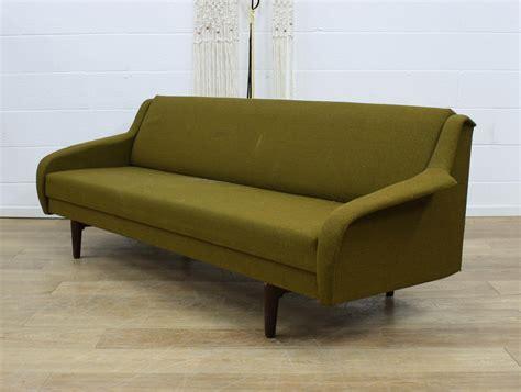 danish sofa bed uk danish midcentury vintage double sofa bed retro 60s ebay