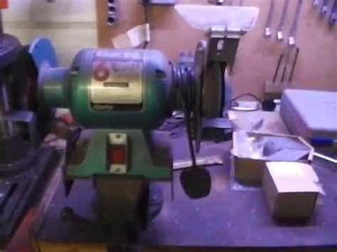 homemade bench grinder homemade bench grinder stand youtube