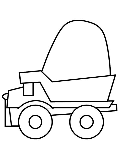 dumptruck construction coloring pages coloring book