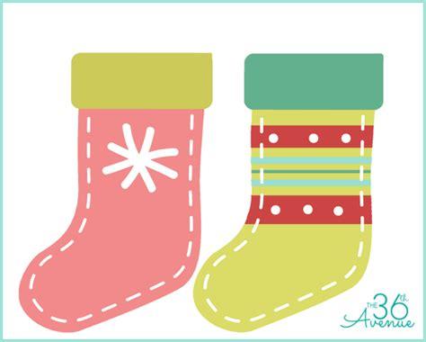 printable images of christmas stockings diy christmas stocking printable the 36th avenue
