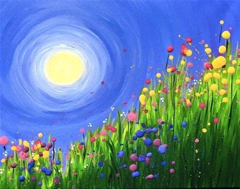painting acrylic landscapes easy way easy acrylic painting landscape image result for easy
