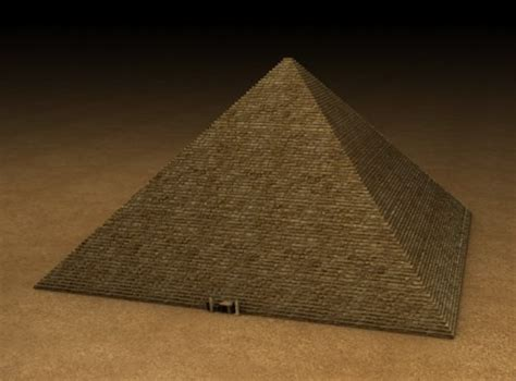 Pyramid Lamp by Egyptian Pyramid 3d Model Obj 3ds Fbx C4d Dxf