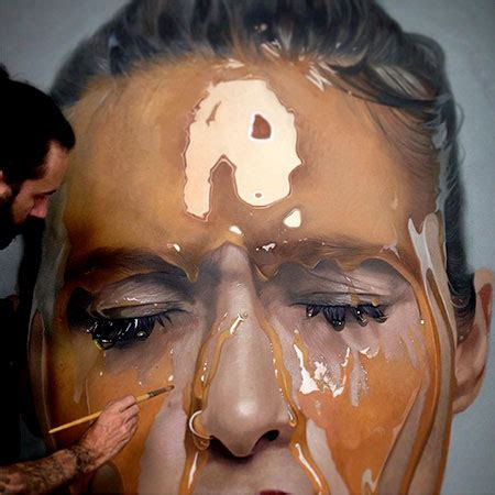 painting realistic realistic paintings by mike dargas