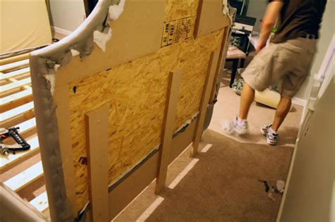 how to fix bed head diy upholstered platform bed with curved fabric headboard