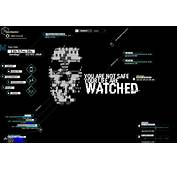 Watch Dogs 2 Rainmeter Theme Re  Upload