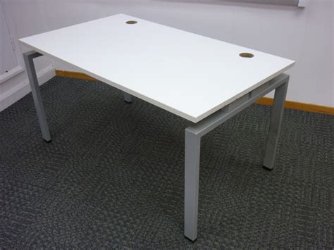 jigsaw bench jigsaw bench desks with new tops used office furniture
