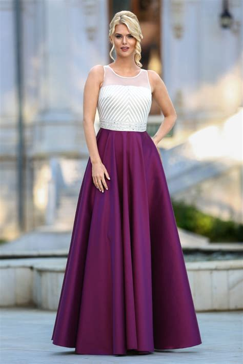 plum color dress prom dresses plum color dress 4388mu neva style