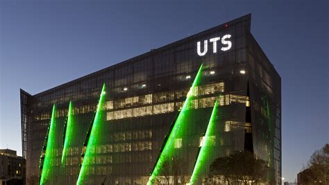 Business Web Design Homepage by Uts Building 11 Exterior By Night On Broadway Uts News Room