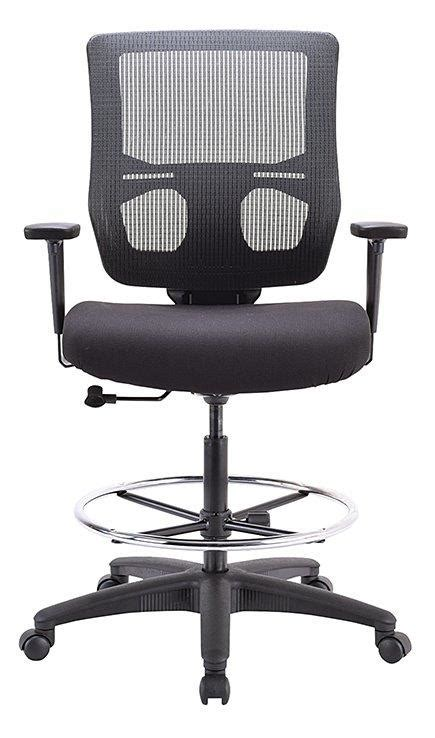 Eurotech Apollo Ll Mesh Drafting Stool 180 Office Reliable Office Furniture