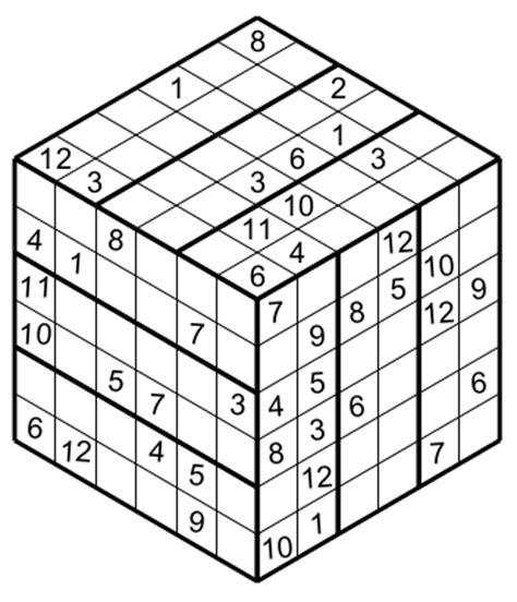 printable sudoku cube 3d sudoku puzzles printable related keywords 3d sudoku