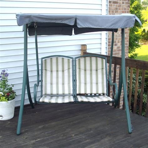 walmart  seater rus replacement swing canopy garden winds