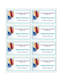 pta membership card template school pto membership cards pto today