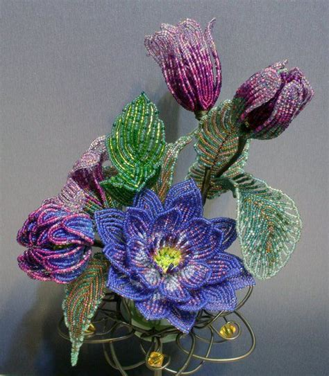 bead flowers 55 best images about beaded flowers and on