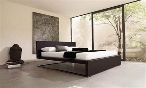 bedroom furniture designer bed that appears to be floating in air modern